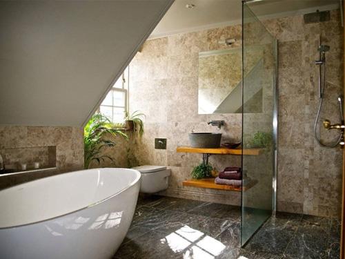 Стеклянная перегородка в ванной комнате защита от брызг воды